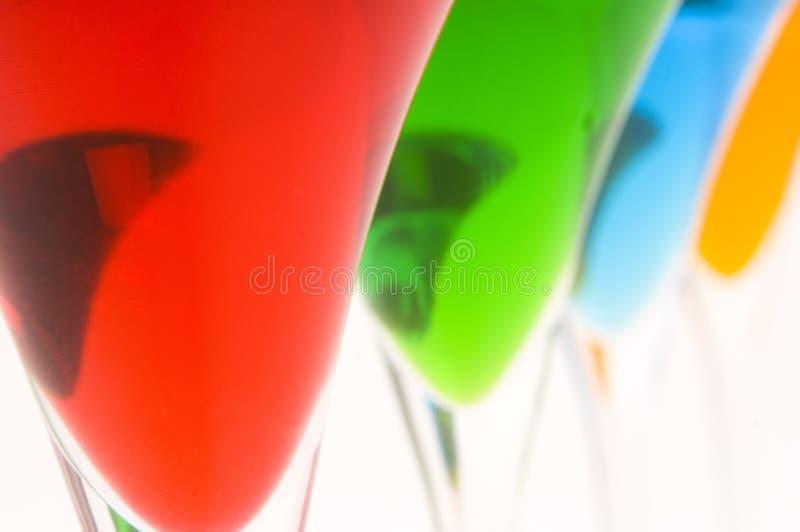 Cocktails colorés #8 photo libre de droits