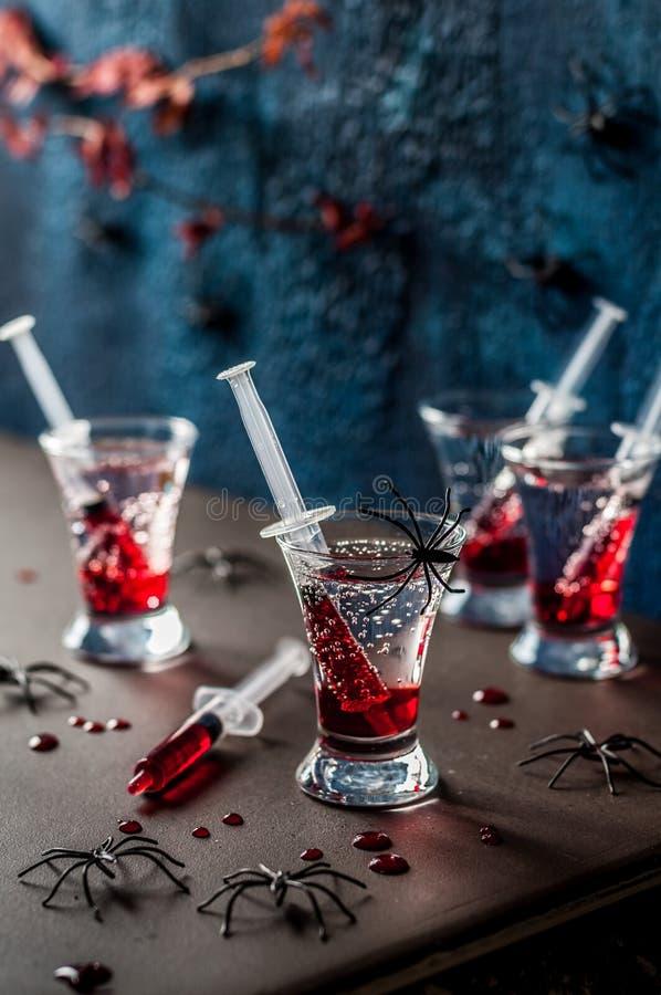 Cocktails de partie de Halloween photo stock