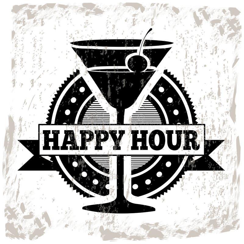 Cocktails design. Over white background vector illustration stock illustration