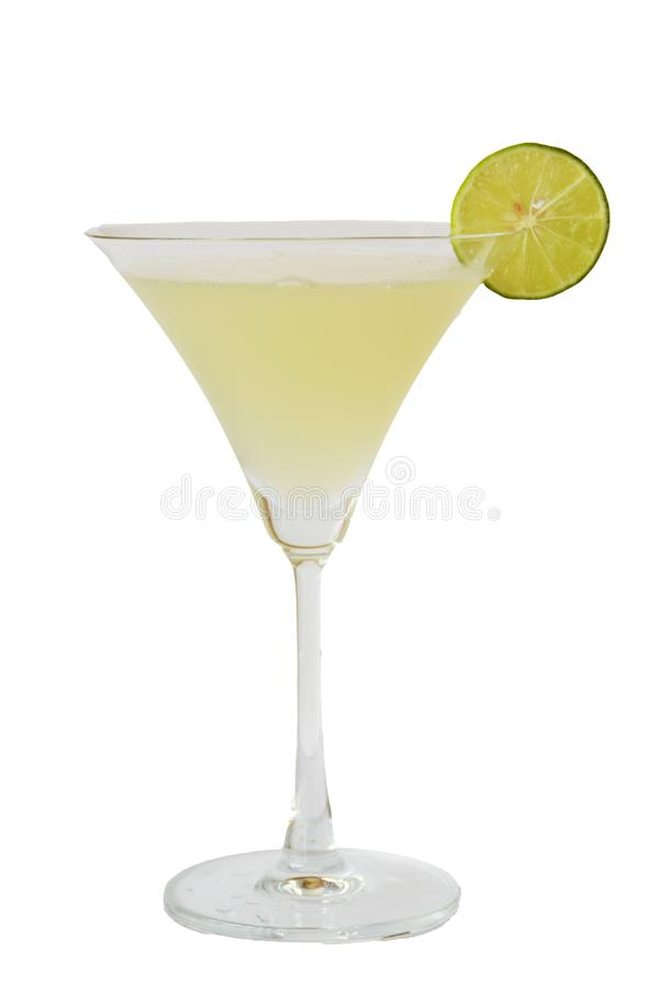 cocktails en alcohol op witte achtergrond stock foto
