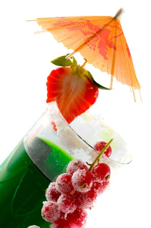 Cocktails en desserts. stock fotografie