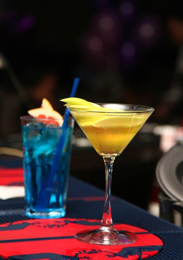 Cocktails exotiques photos libres de droits