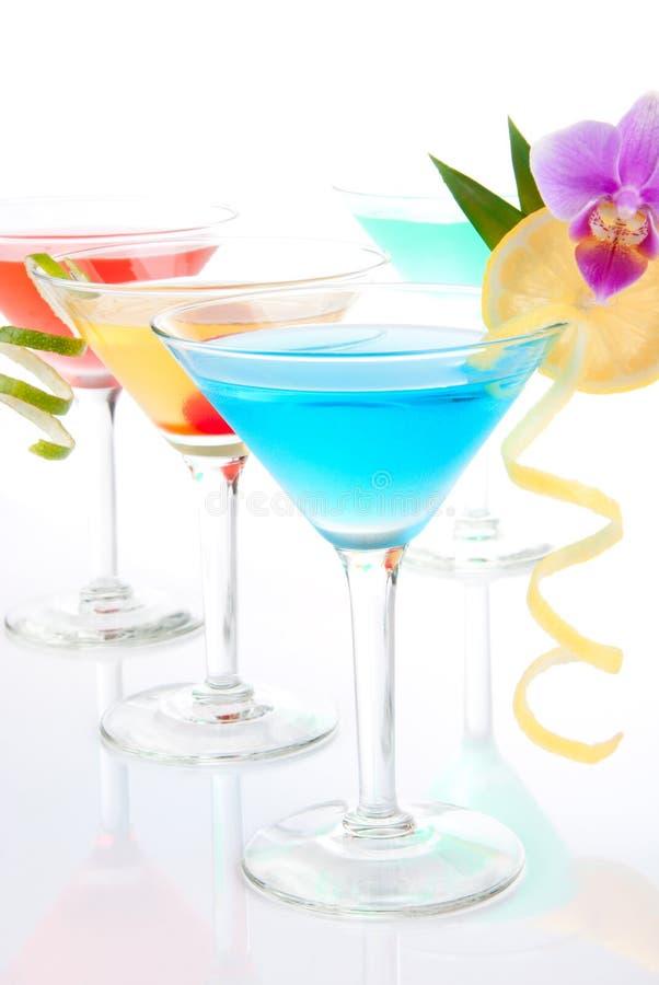 Cocktails frais de Martini photo libre de droits