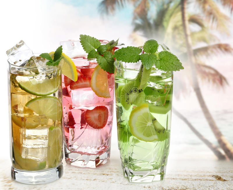 Download Cocktails With Fruits Royalty Free Stock Photography - Image: 26543037