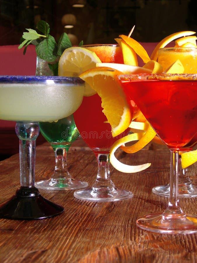 Cocktails mexicains images libres de droits