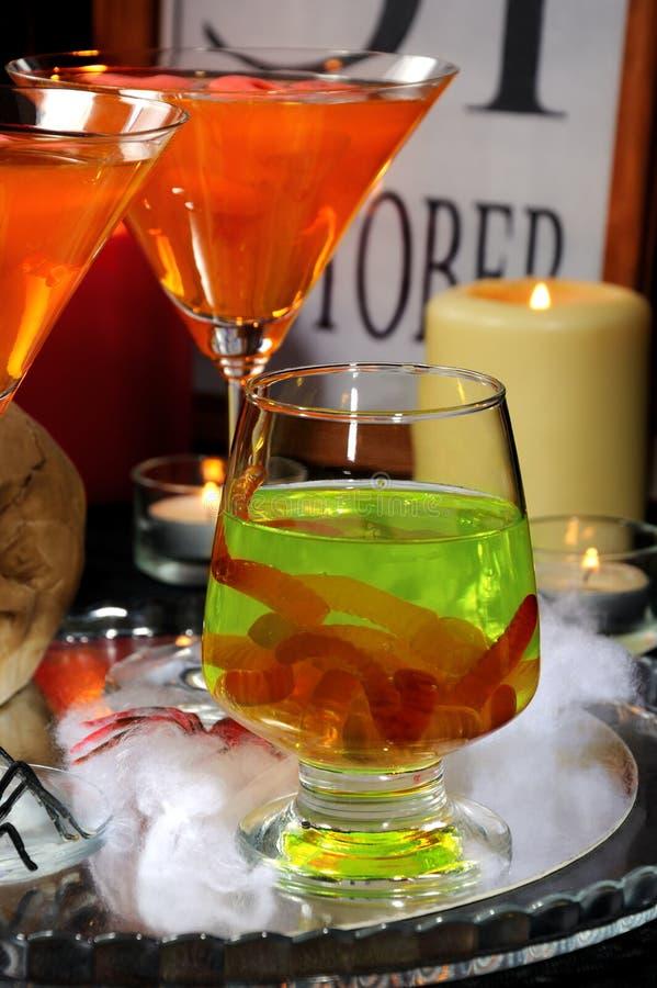 Cocktails pour Halloween image libre de droits