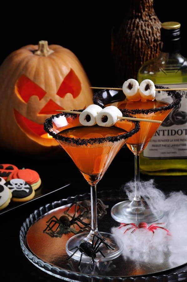 Cocktails pour Halloween images libres de droits