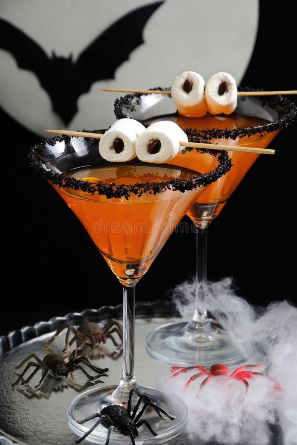 Cocktails voor Halloween stock foto