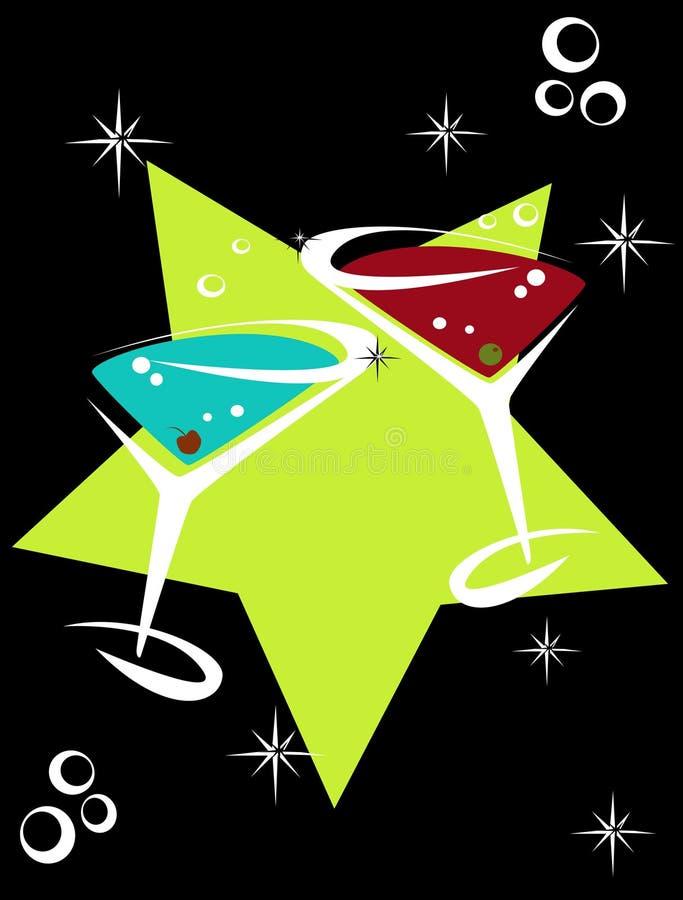 Cocktails12 ilustración del vector