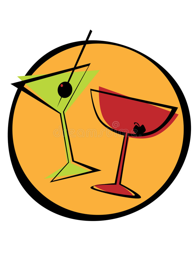 Cocktails13 illustration stock