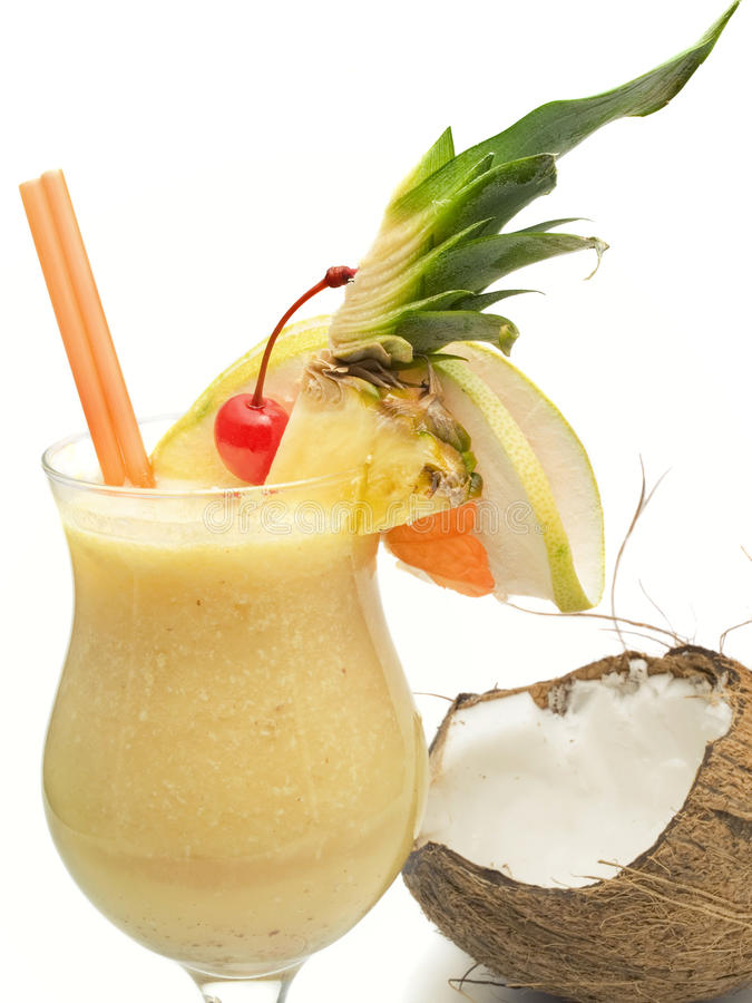 Cocktailsammlung - Pina Colada stockfotografie