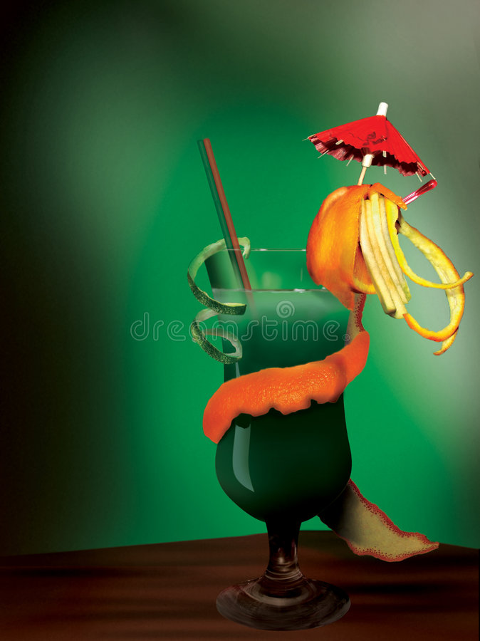 Download Cockteil stock photo. Image of lime, bartender, green, glass - 80870