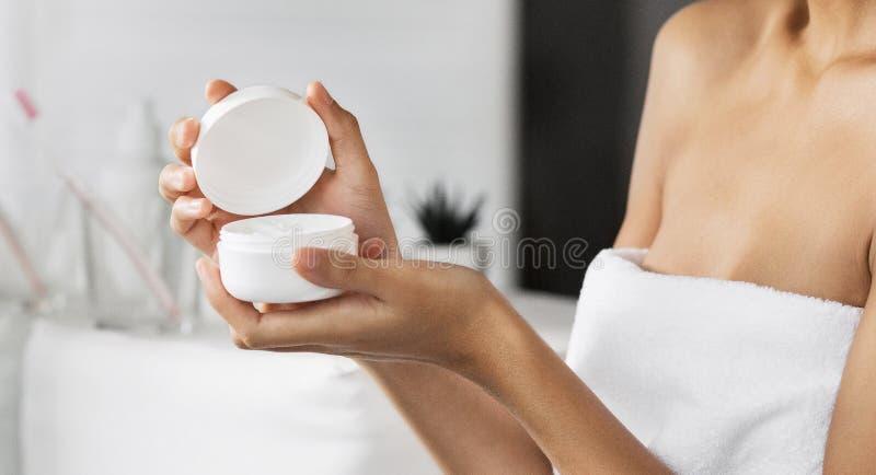 Cocncept natural dos produtos de beleza imagem de stock