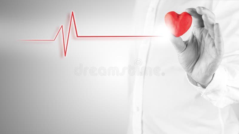 Cocnept de la cardiología fotografía de archivo libre de regalías