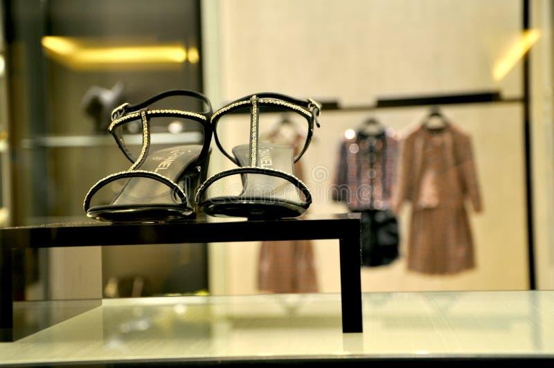 Coco Chanel Summer Luxury Fashion Editorial Stock Photo