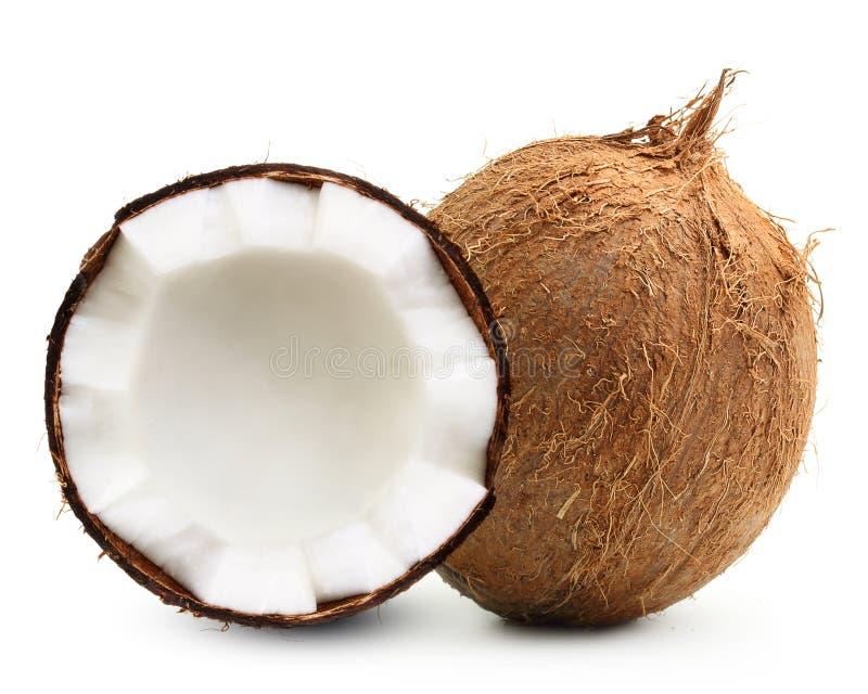 Coco isolado imagens de stock royalty free