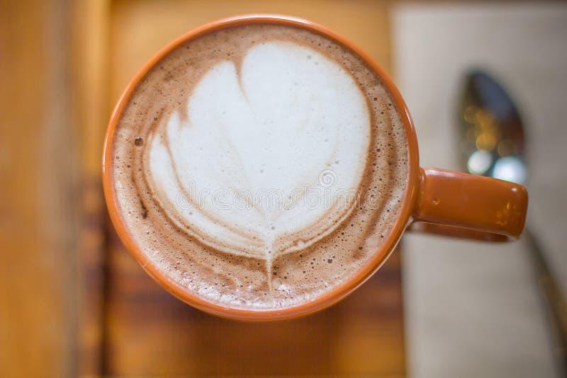 Coco latte zdjęcie royalty free