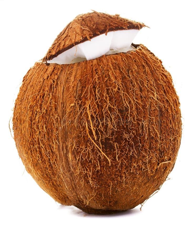 Download Coco rachado foto de stock. Imagem de meio, marrom, dieta - 29833852