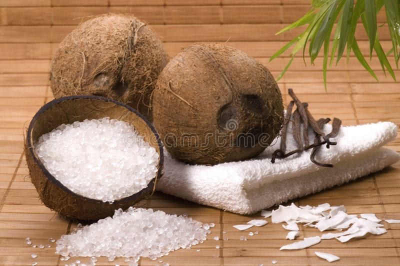 Download Coco and vanilla bath stock image. Image of fresh, aromatic - 2601419