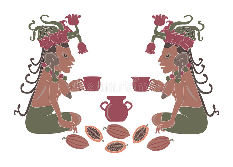 Download Cocoa stock vector. Illustration of illustration, seed - 25565174