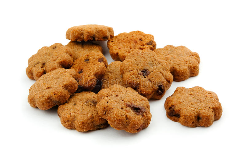 Download Cocoa chocolate  cookies stock image. Image of food, baked - 15396147