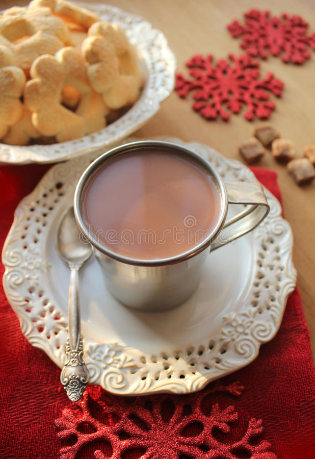 Cocoa Drink Stock Image