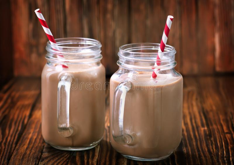 Cocoa drink royalty free stock image