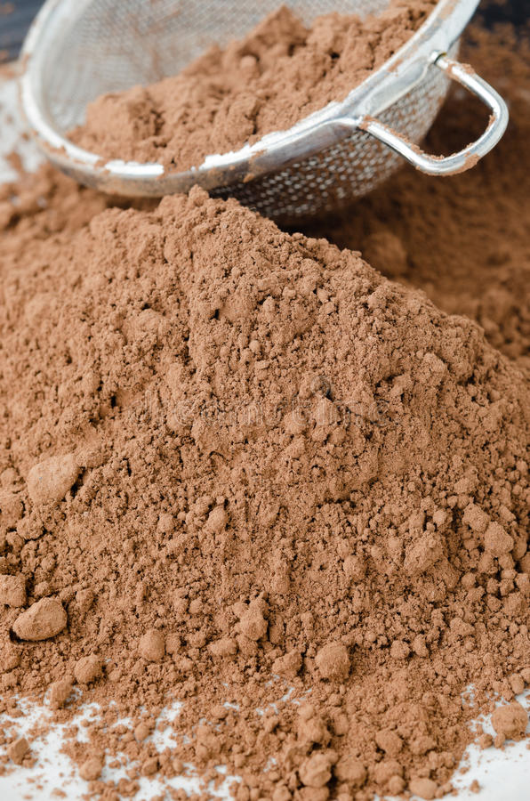 Download Cocoa powder stock image. Image of food, kitchen, dessert - 27091463