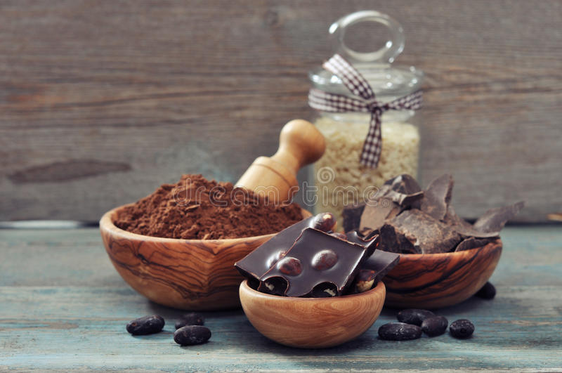 Download Cocoa products stock photo. Image of ingredient, delicious - 36027428