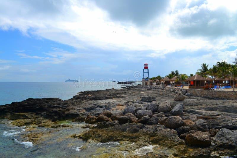 CocoCay - Багамские острова стоковые фото
