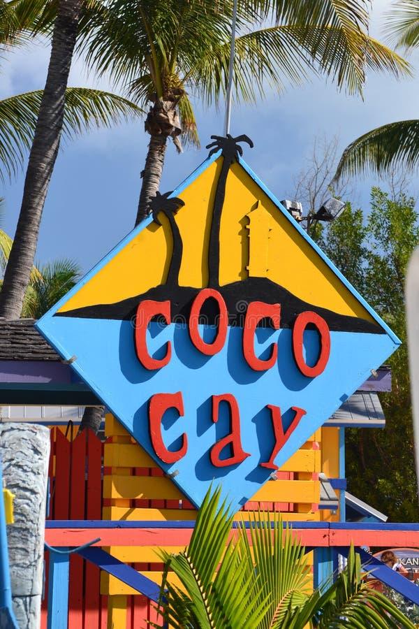 Cococaytecken royaltyfri fotografi