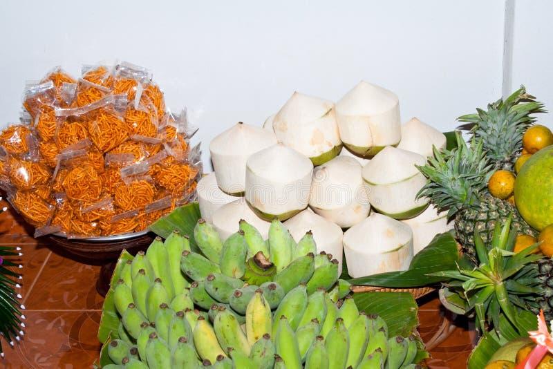 Coconut And Banana Stock Photos