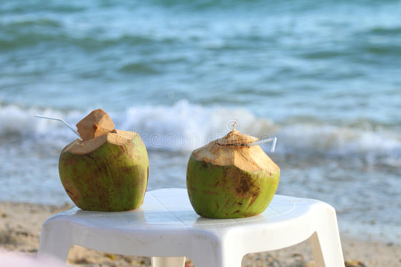 Download Coconut cocktail stock photo. Image of blue, pattaya - 22240420