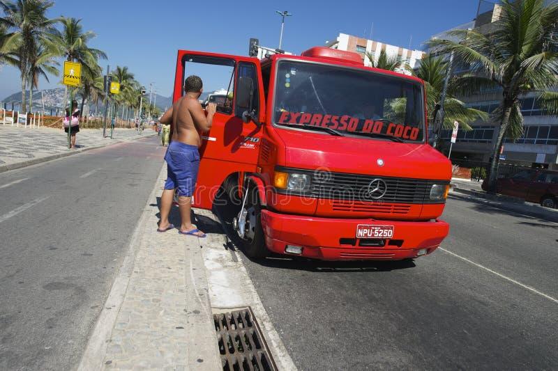 Download Coconut Delivery Truck Rio Brazil Editorial Photo - Image: 41452421
