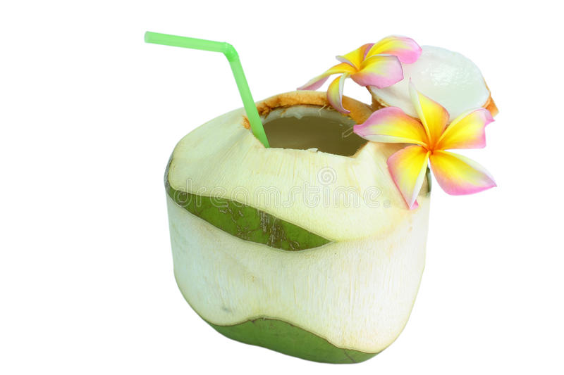 Download Coconut drinks stock photo. Image of caribbean, balinese - 24332820