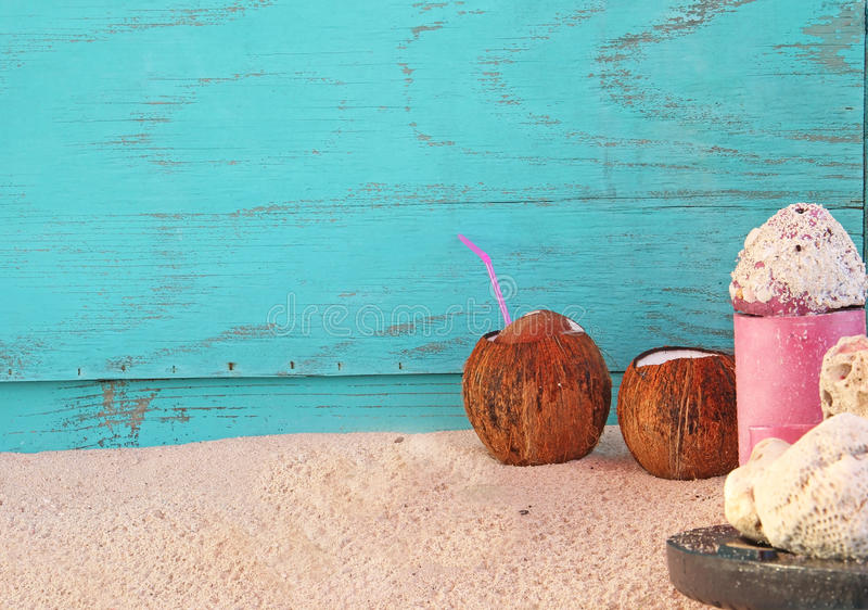 Download Coconut Drinks Stock Photo Image Of Rest Island Vacation