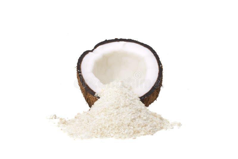 Coconut Half stock image