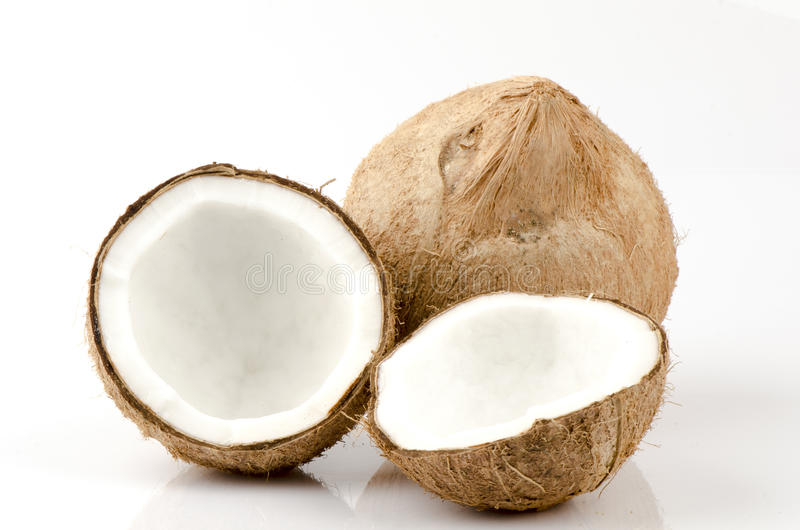Download Coconut stock photo. Image of coco, halfs, details, diet - 37999628