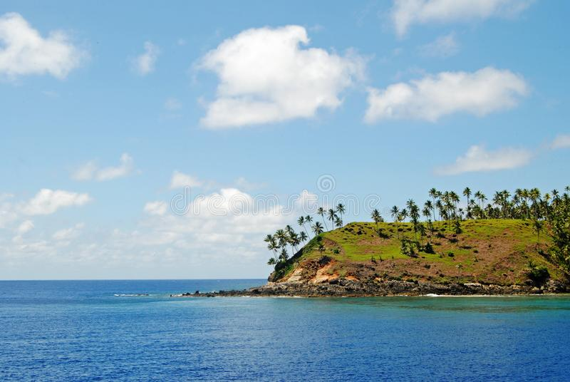 Coconut Island Named Matutuang royalty free stock images