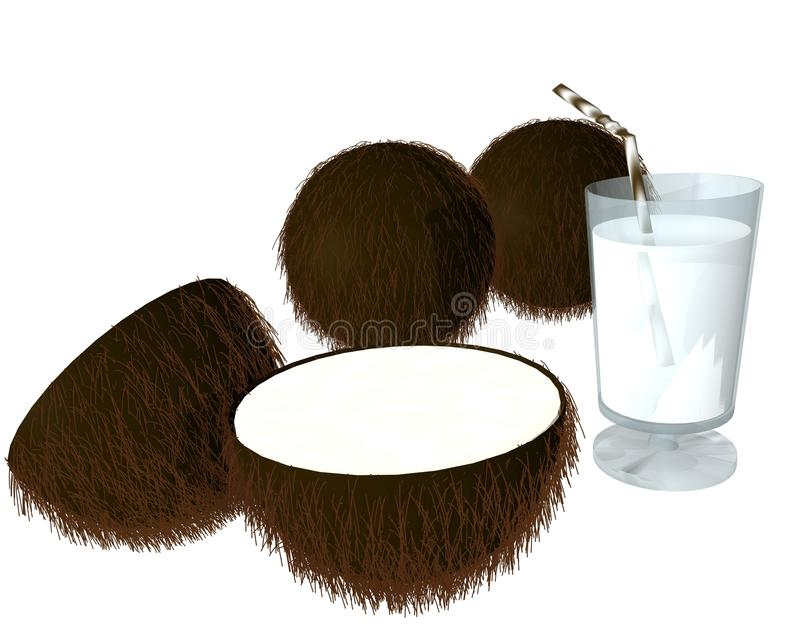 Download Coconut Juice Stock Photo - Image: 12595630
