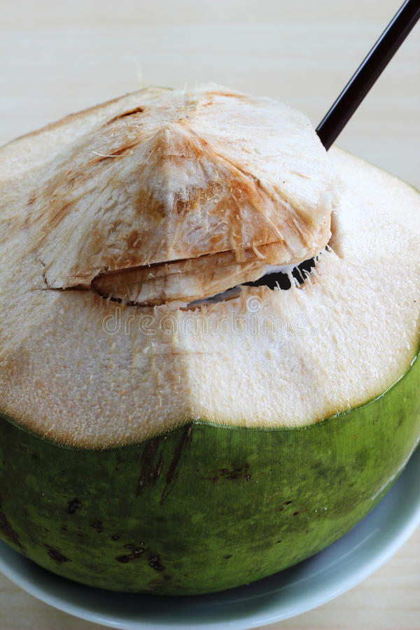 Coconut Juice Royalty Free Stock Photography