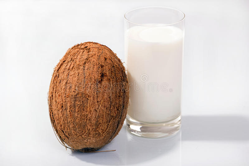 Download Coconut Milk And Coconut Stock Photo - Image: 34454370