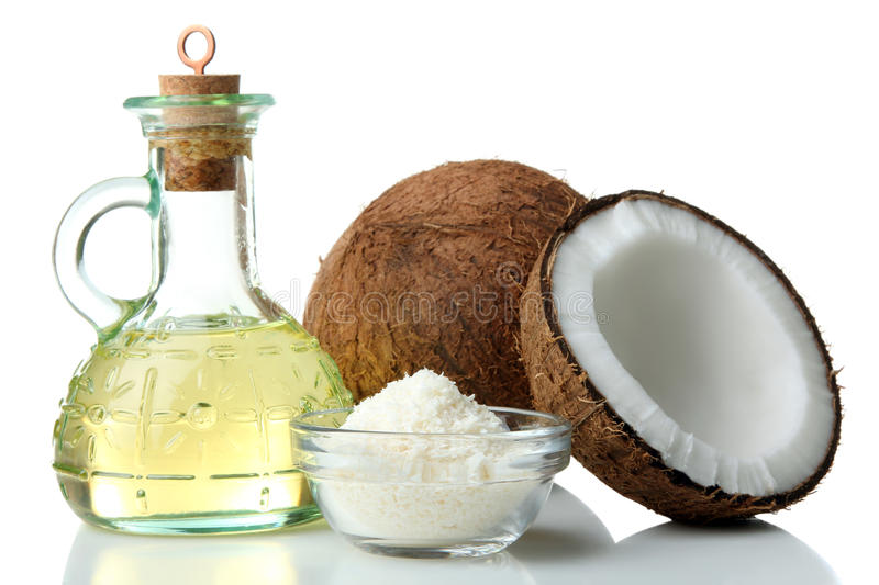 Coconut oil stock photography