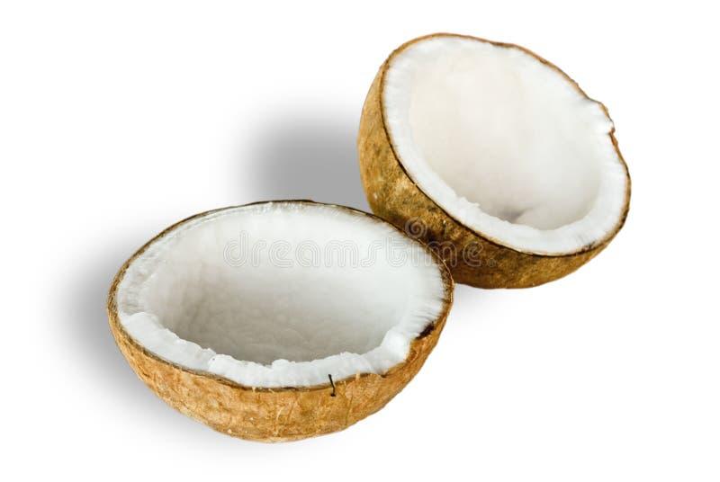 Download Coconut for oil preparing stock image. Image of broken - 16574325