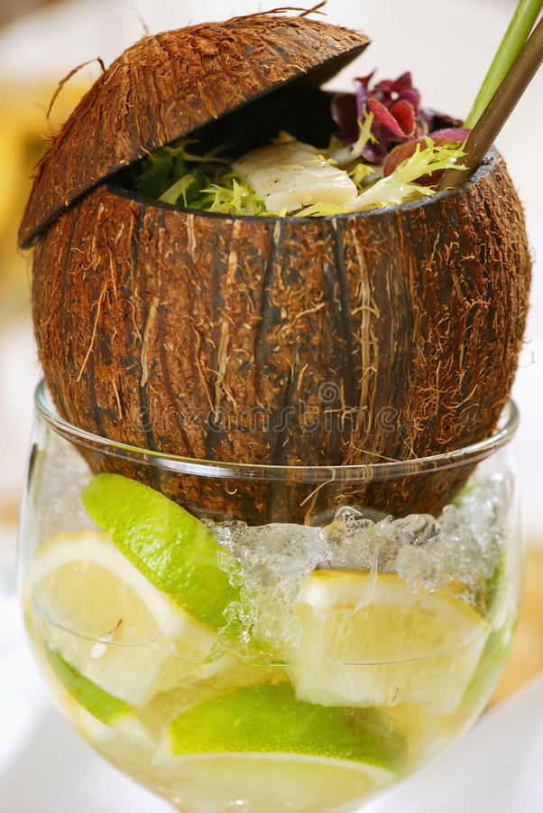 Free Coconut Salad Stock Images - 9828654