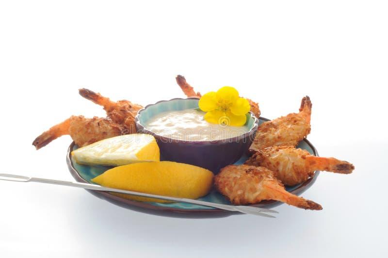 Coconut Shrimp royalty free stock photo