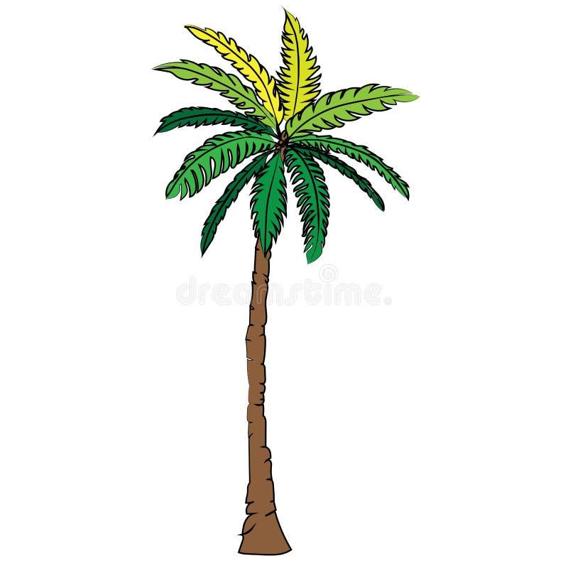 Coconut Tree Beast Icon Cartoon Design Illustration Nature ...