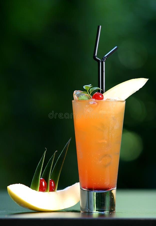 Coctail arancione fotografia stock libera da diritti