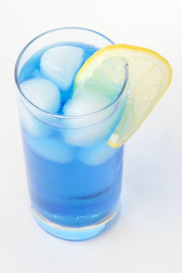 Coctail blu fotografie stock