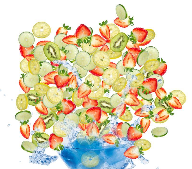 Coctail de la fruta. fotos de archivo